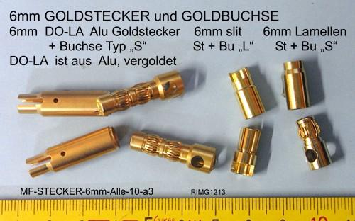 Goldstecker 4mm original MC gedrehte Lamellen